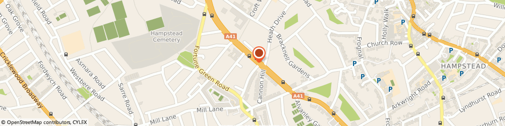 Route/map/directions to Basilico Ltd, NW3 7BB London, 515 Finchley Rd