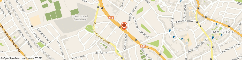 Route/map/directions to Millennium Residential, NW3 7BB London, 517 Finchley Road