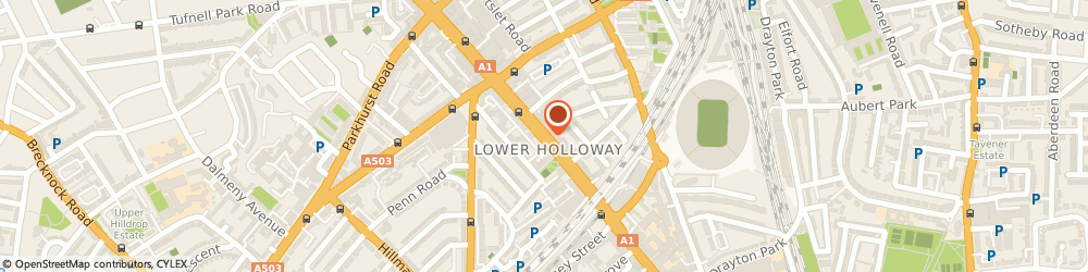 Route/map/directions to Royal Cous Cous House, N7 6NJ London, 316 Holloway Road