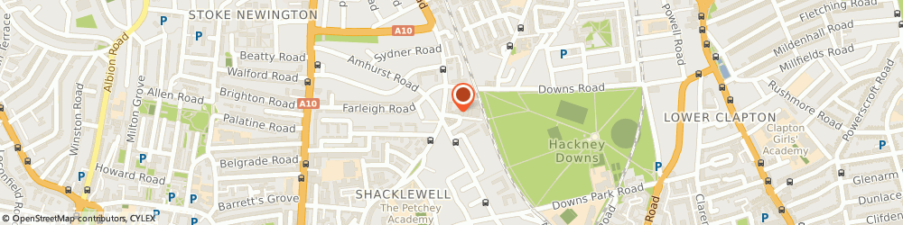 Route/map/directions to Wolf & Ink, E8 2BT London, Hackney Downs Studios, Amhurst Terrace