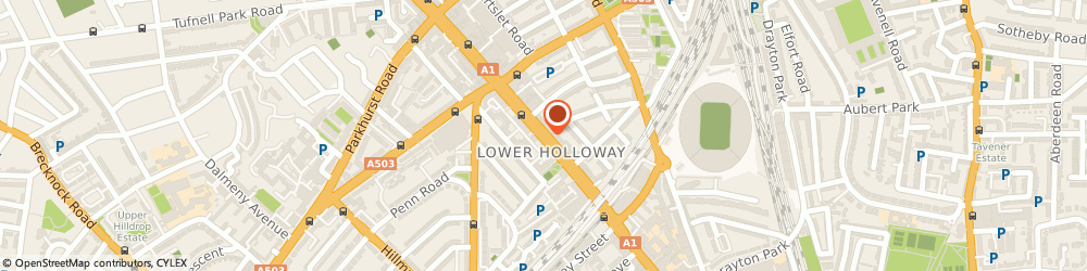 Route/map/directions to indiebeer, N7 6NJ London, 322 Holloway Road