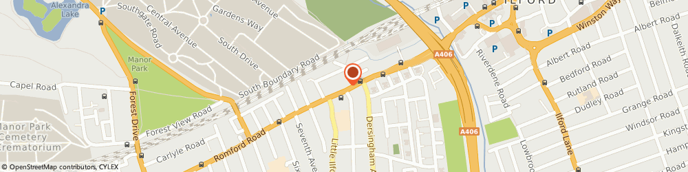 Route/map/directions to Universal Cameras Limited, E12 5JR London, 967 Romford Road