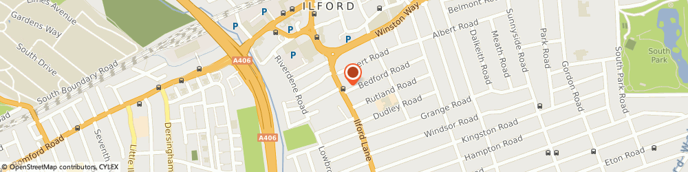 Route/map/directions to Style Mantra, IG1 2RJ Ilford, 109 Ilford Lane