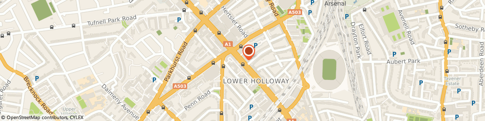 Route/map/directions to Olympos Cash & Carry Ltd, N7 6PA London, 356 Holloway Road