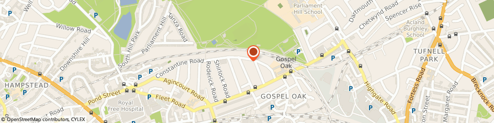 Route/map/directions to Construction Link Limited, NW3 2JU London, 39C Savernake Road