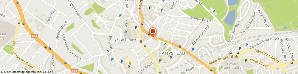 Route/map/directions to The Coffee Cup Ltd, NW3 1QX London, 74 Hampstead High St