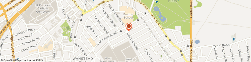 Route/map/directions to Cann Hall Carpet Cleaners Ltd, E7 9DZ London, 291 Odessa Rd