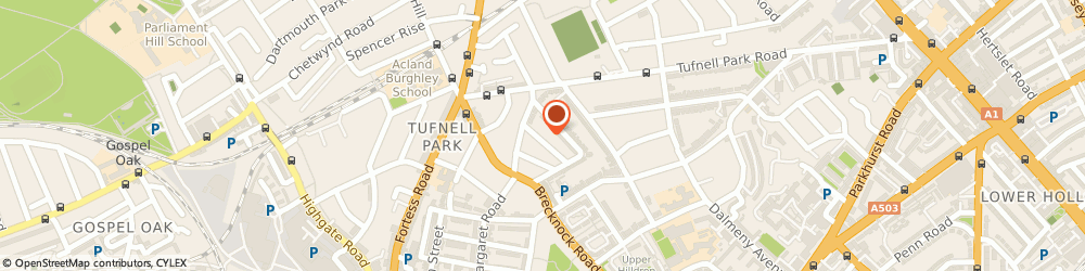 Route/map/directions to The Plot Doctor, N19 5EU London, 13 Hugo Road