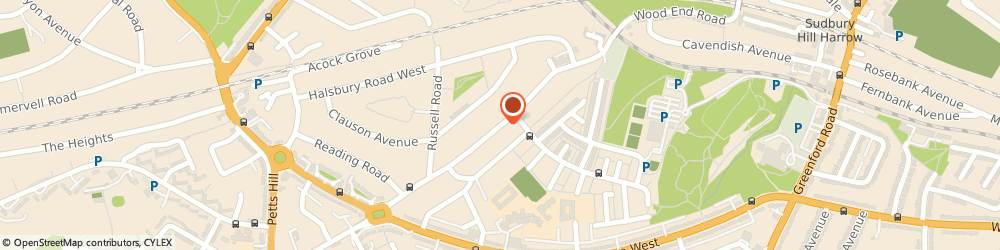 Route/map/directions to Lms Locksmith, UB5 4QN Northolt, 114 Wood End Gardens