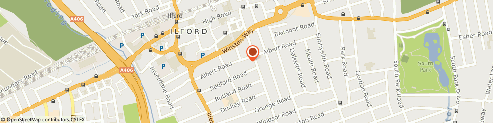 Route/map/directions to Wanstead Village Directory, IG1 8JT Ilford, Po Box 2491