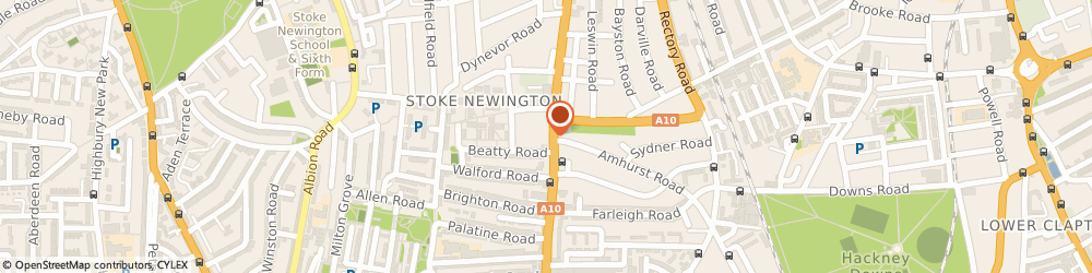Route/map/directions to The Boutique Pink, N16 8BP London, 149 Stoke Newington Road