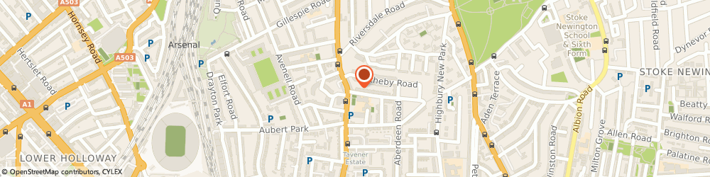 Route/map/directions to Bill Critchley Consulting Limited, N5 2UZ London, 1 Northolme Road