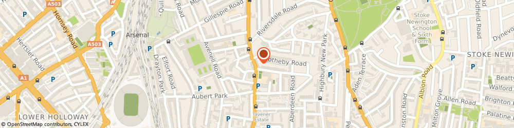 Route/map/directions to A P Watson Ltd, N5 2XE London, 80 Highbury Park