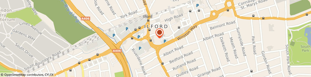 Route/map/directions to Gm Professional Accountants, IG1 2QY Ilford, 14 Clements Court, Clements Lane