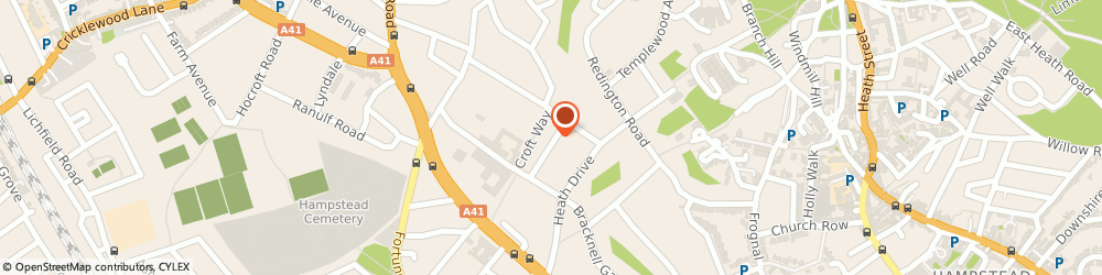 Route/map/directions to Jennifer Labrom Lbipp London, NW3 7SS London, 15 KIDDERPORE GARDENS