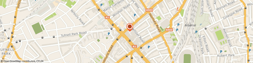 Route/map/directions to Professional Snooker Club, N7 6AH London, 8-14 Seven Sisters Rd
