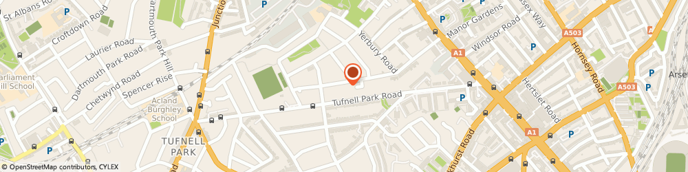 Route/map/directions to David Rattray Violins Limited, N19 4PU London, GROUND FLOOR, 98 MERCERS ROAD