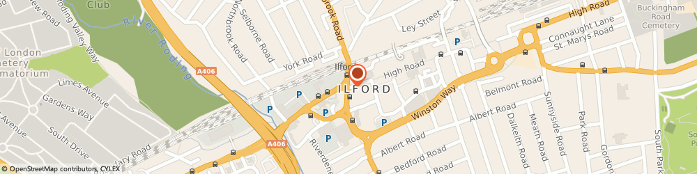 Route/map/directions to Debenhams, IG1 1RS Ilford, High Road