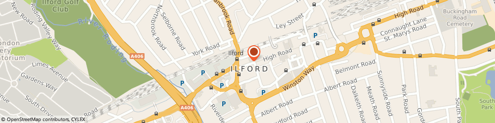 Route/map/directions to Bonmarché, IG1 1DE Ilford, 109 High Road