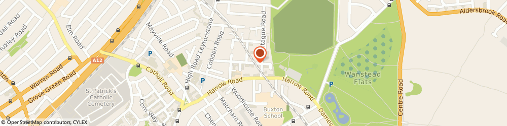 Route/map/directions to Service Centre, E11 3PG London, 297 Railway Arches, Acacia Road