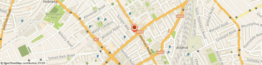 Route/map/directions to British Heart Foundation Furniture & Electrical, N7 6BU Holloway, 83 Seven Sisters Road