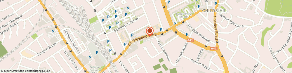 Route/map/directions to Local Tool Hire ltd, NW2 2DX London, 180 Cricklewood Lane