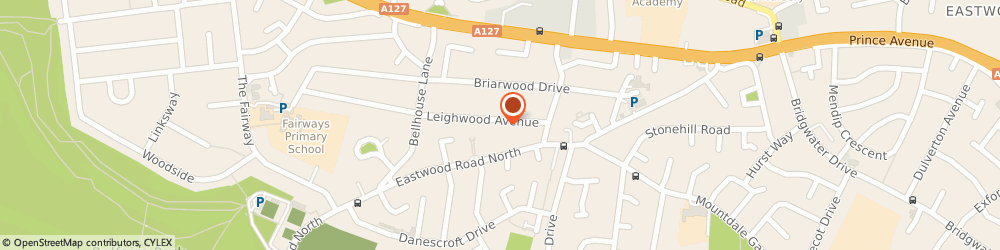 Route/map/directions to Black Book Business Consulting Ltd, SS9 4LG Leigh-On-Sea, 14a Leighwood Avenue