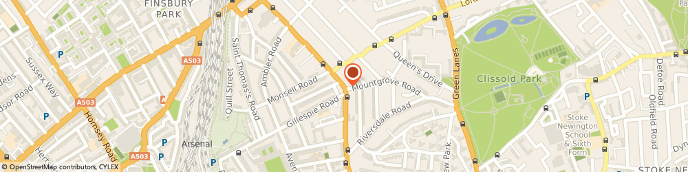 Route/map/directions to UPS Solutions Logistics, N4 2DY London, 152 Blackstock Road