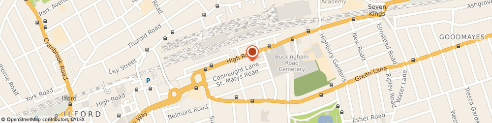 Route/map/directions to Ten Forward Finance, N12 0BP London, Balfour House, 741 High Road