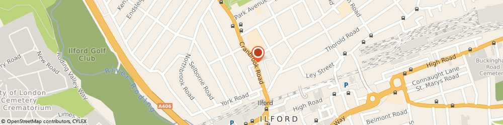 Route/map/directions to Taxcare Accountancy Ltd, IG1 4PU Ilford, 103 Cranbrook Road