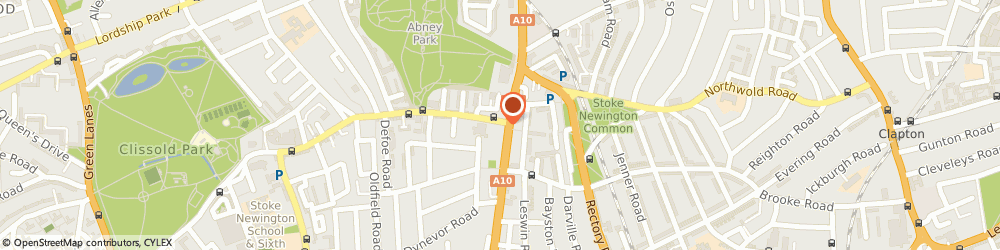 Route/map/directions to Earlybird Design, N16 0AP London, 3 Stoke Newington Church St