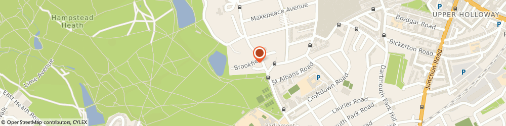 Route/map/directions to Heatmaster London Ltd., N12 8TW London, 2 Brookfield Court