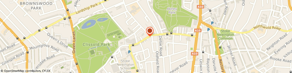 Route/map/directions to Vivace Violin, N16 0JU London, 146 Stoke Newington Church Street