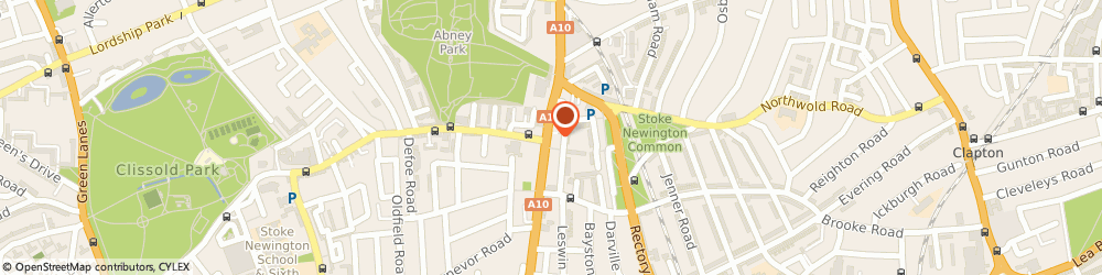 Route/map/directions to Ivory, N16 7JD London, 188A, Stoke Newington High St