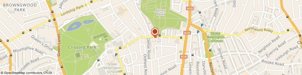 Route/map/directions to Black Guitars, N16 0AS London, 91, STOKE NEWINGTON CHURCH ST