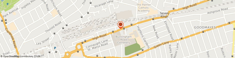 Route/map/directions to Dwelling Estates Ltd, IG1 1TZ Ilford, 497a High Road