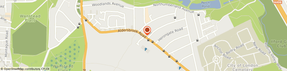 Route/map/directions to Aldersbrook Locksmiths, E12 5HH London, 23-25 Aldersbrook Rd
