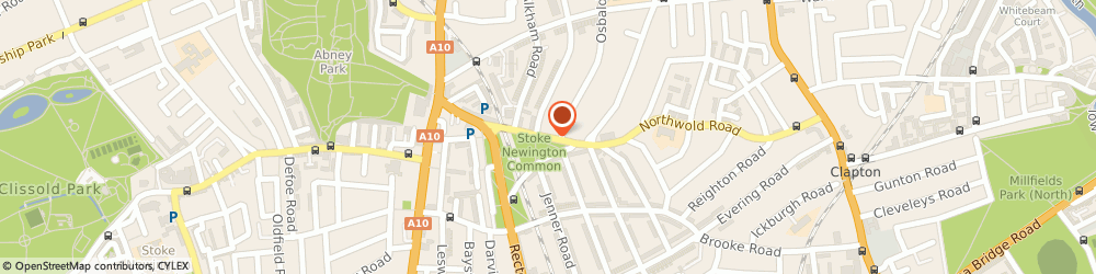 Route/map/directions to The News Sheet, N16 7HL London, ILEX WORKS, NORTHWOLD ROAD