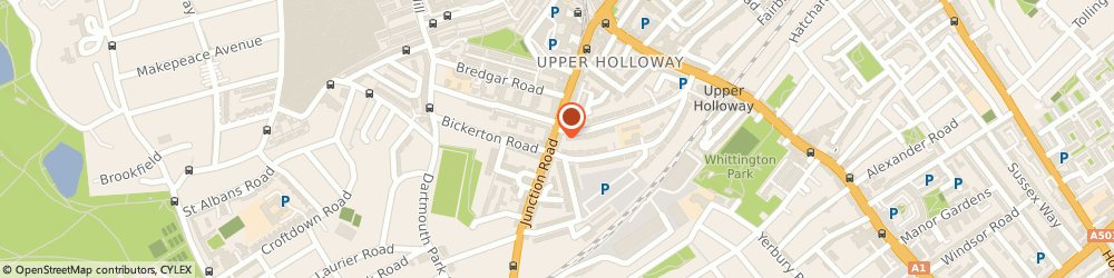 Route/map/directions to Robuild Builders London, N19 5QX London, 99 Junction Rd, Archway