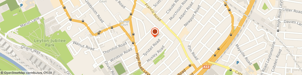 Route/map/directions to Ark London Builders, E10 6NB London, 60 Murchison Rd