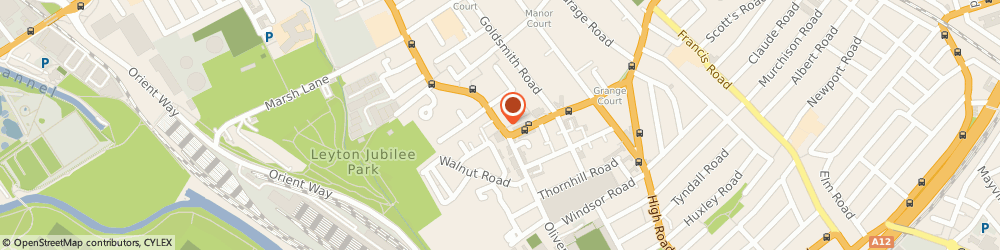 Route/map/directions to Get It Cleaned, E10 5JL London, 61 Church Rd
