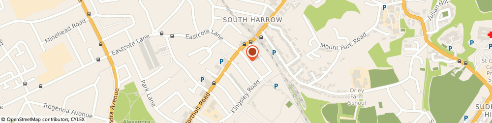 Route/map/directions to Commercial Gas Systems Ltd, HA2 8LQ Harrow, 13 Eastcote Road