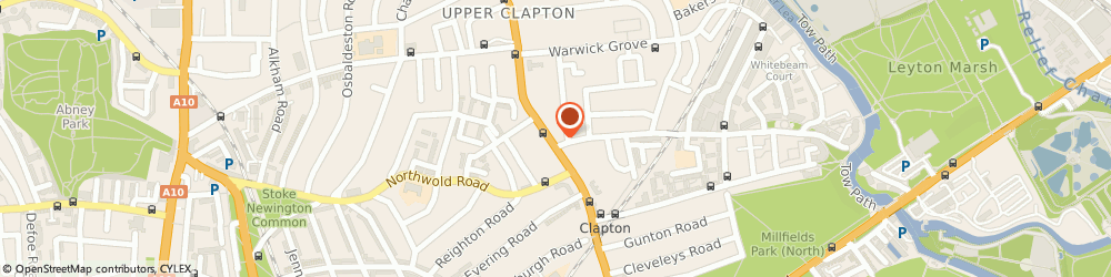 Route/map/directions to UPS Solutions Logistics, E5 9JZ London, Upper Clapton Road, 140