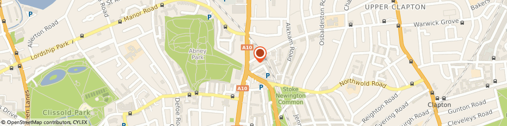 Route/map/directions to UPS Solutions Logistics, N16 6BD London, 2 Cazenove Road