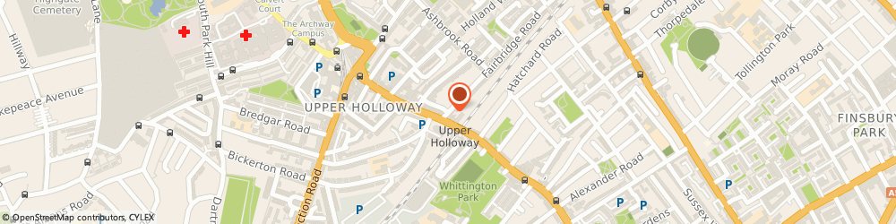 Route/map/directions to Group & Individual Psychotherapy, N19 3EW London, 1 Fairbridge Rd