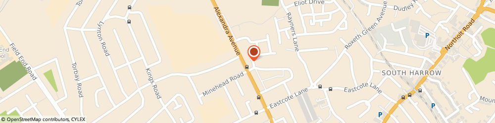 Route/map/directions to Sng Plus Limited, HA2 9BY Harrow, 238B MALVERN COURT, ALEXANDRA AVENUE