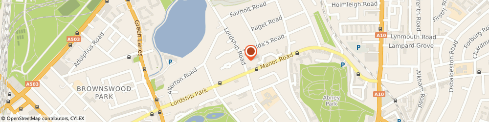 Route/map/directions to PRONTOLOCKSMITHS LIMITED, N16 5HB London, 166 Lordship Road