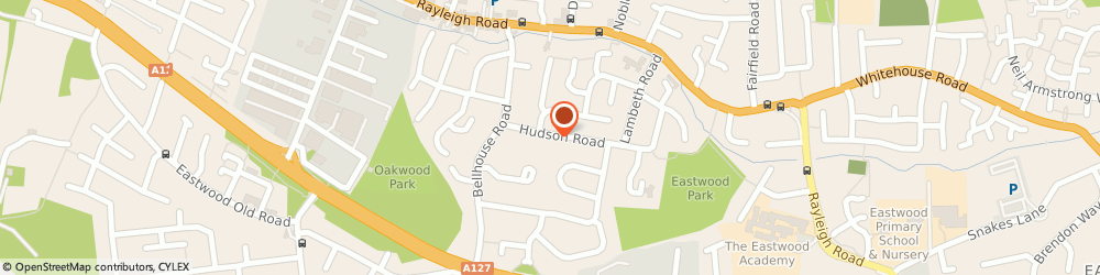 Route/map/directions to Apple Driving School Ltd, SS9 5NX Leigh-On-Sea, 64, Hudson Rd