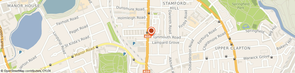 Route/map/directions to Stamford Hill Locksmiths, N16 6XS London, 62-64 Stamford Hill