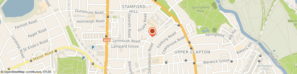 Route/map/directions to L & G Disposables, N16 6LD London, 29 Oldhill St